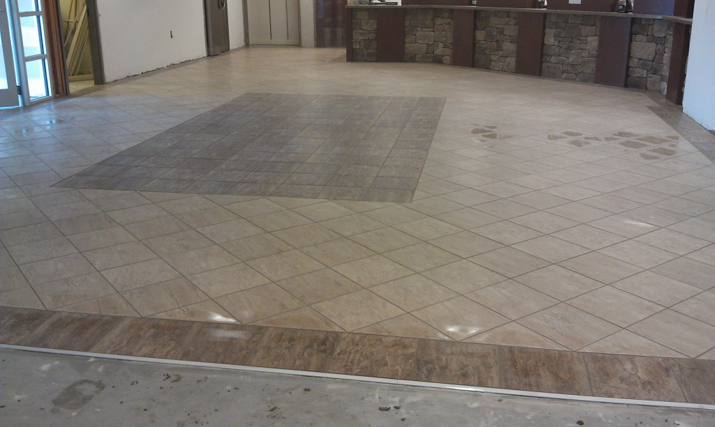 new tile floor in Waycross, GA